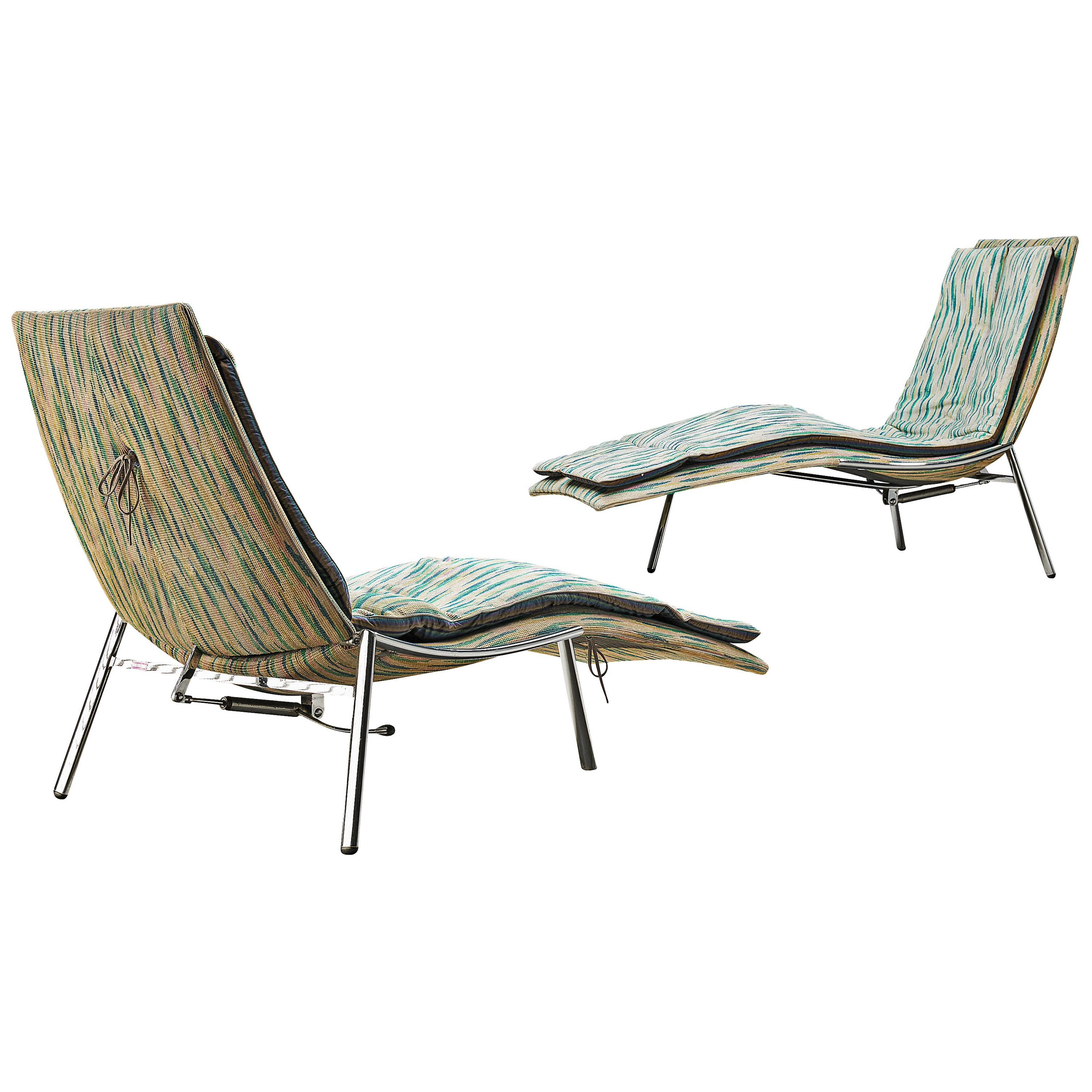 Chaise Longues by Giovanni Offredi for Saporiti