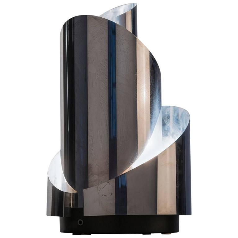 Marvellous table lamp by luci milano for sale at 1stdibs for Milano chrome floor lamp