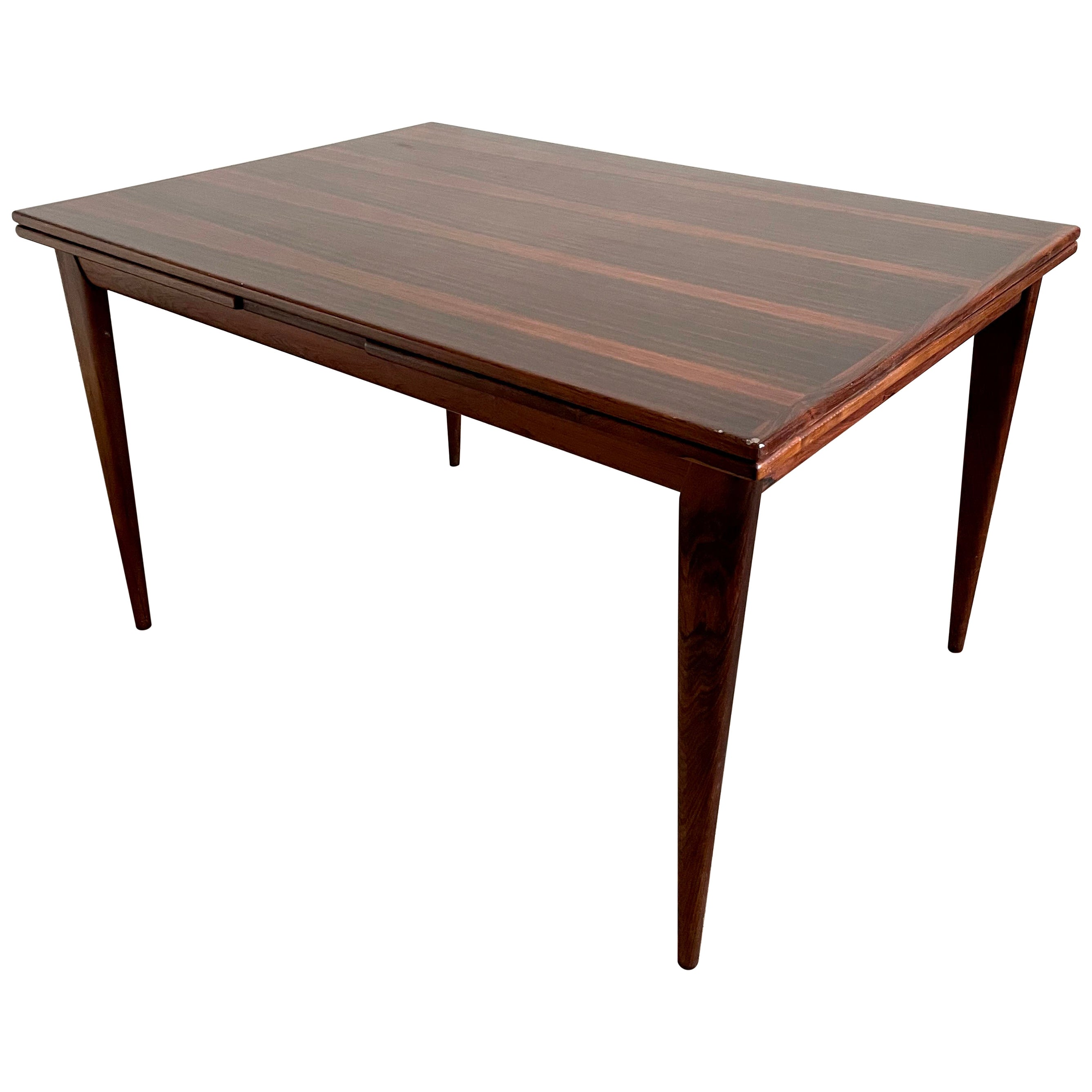 Danish Modern Rosewood Table Model 254, Niels O. Møller for J.L. Møllers, 1950s