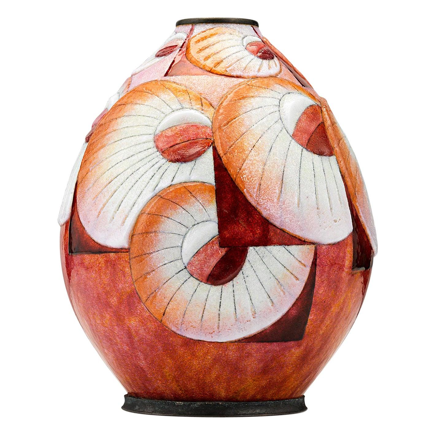 Sunburst Vase by Camille Fauré