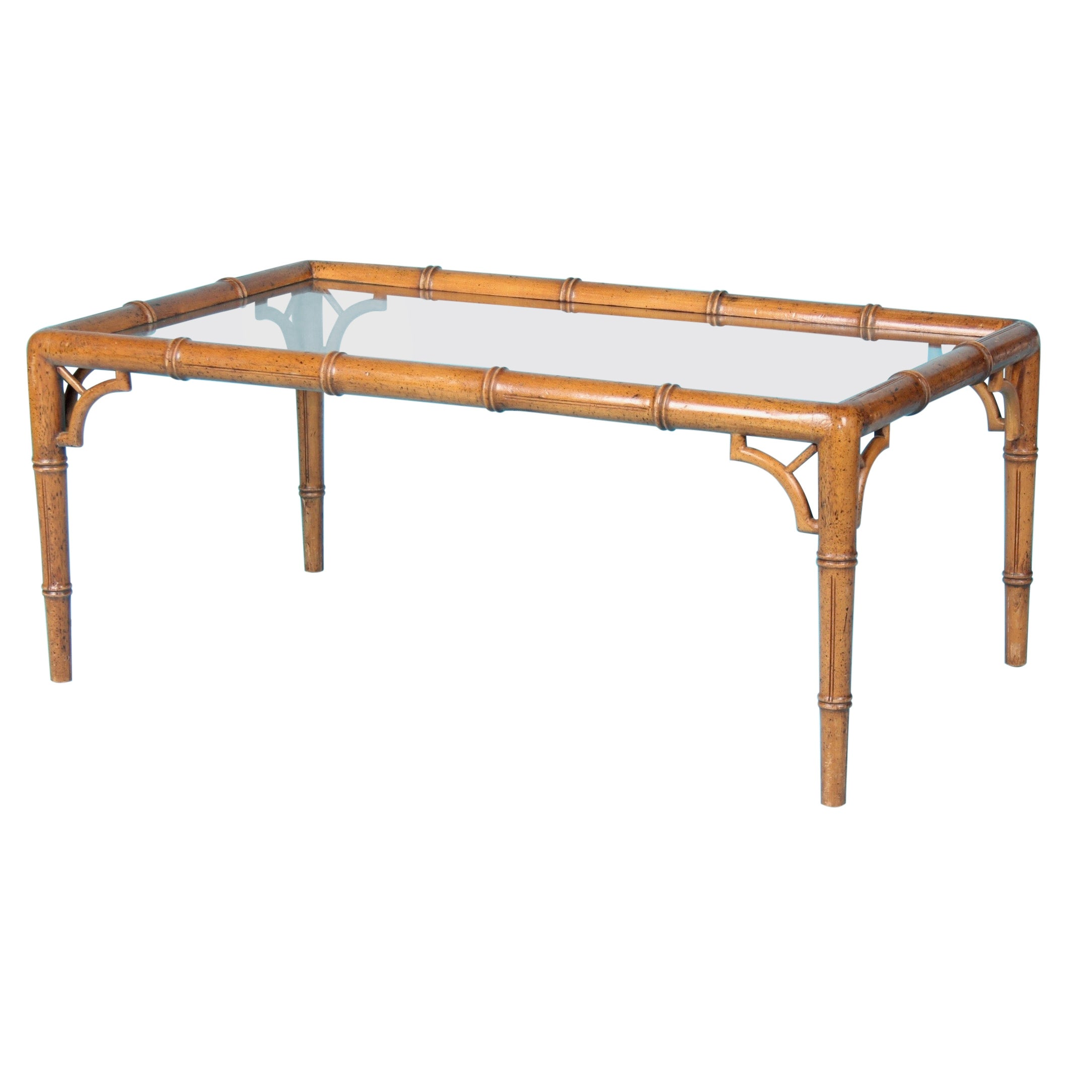 Faux Bamboo Coffee Table