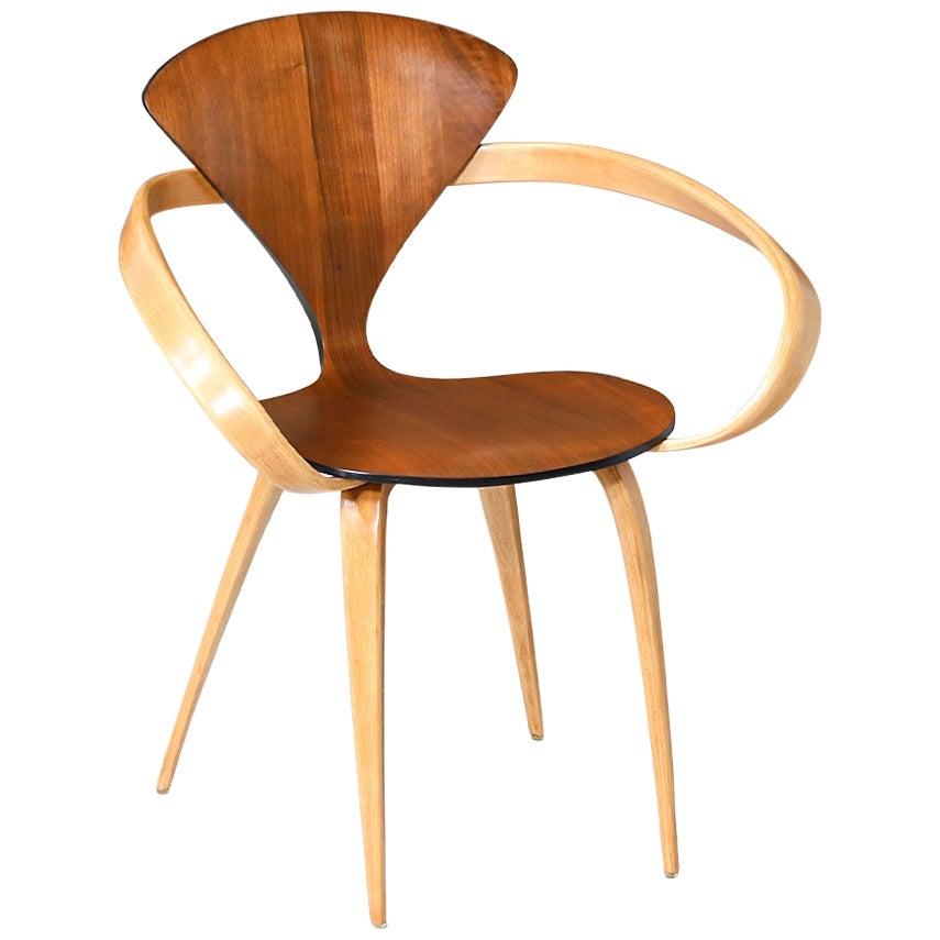"""Mid-Century Modern Norman Cherner """"Pretzel"""" Armchair for Plycraft"""