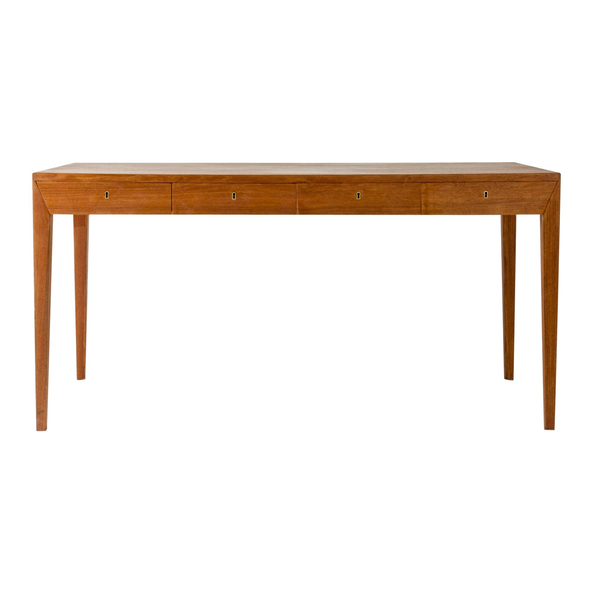 Teak Desk by Severin Hansen for Haslevs Møbelfabrik, Denmark, 1960s