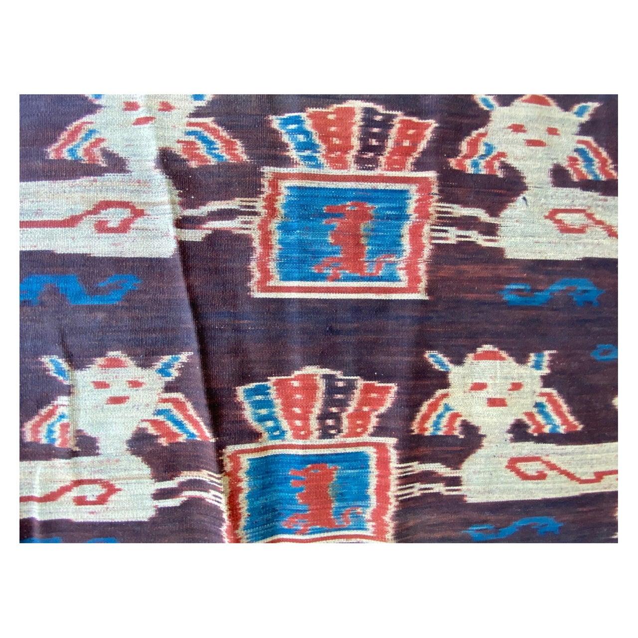 Andrianna Shamaris Super Rare Long Ikat From Sumba