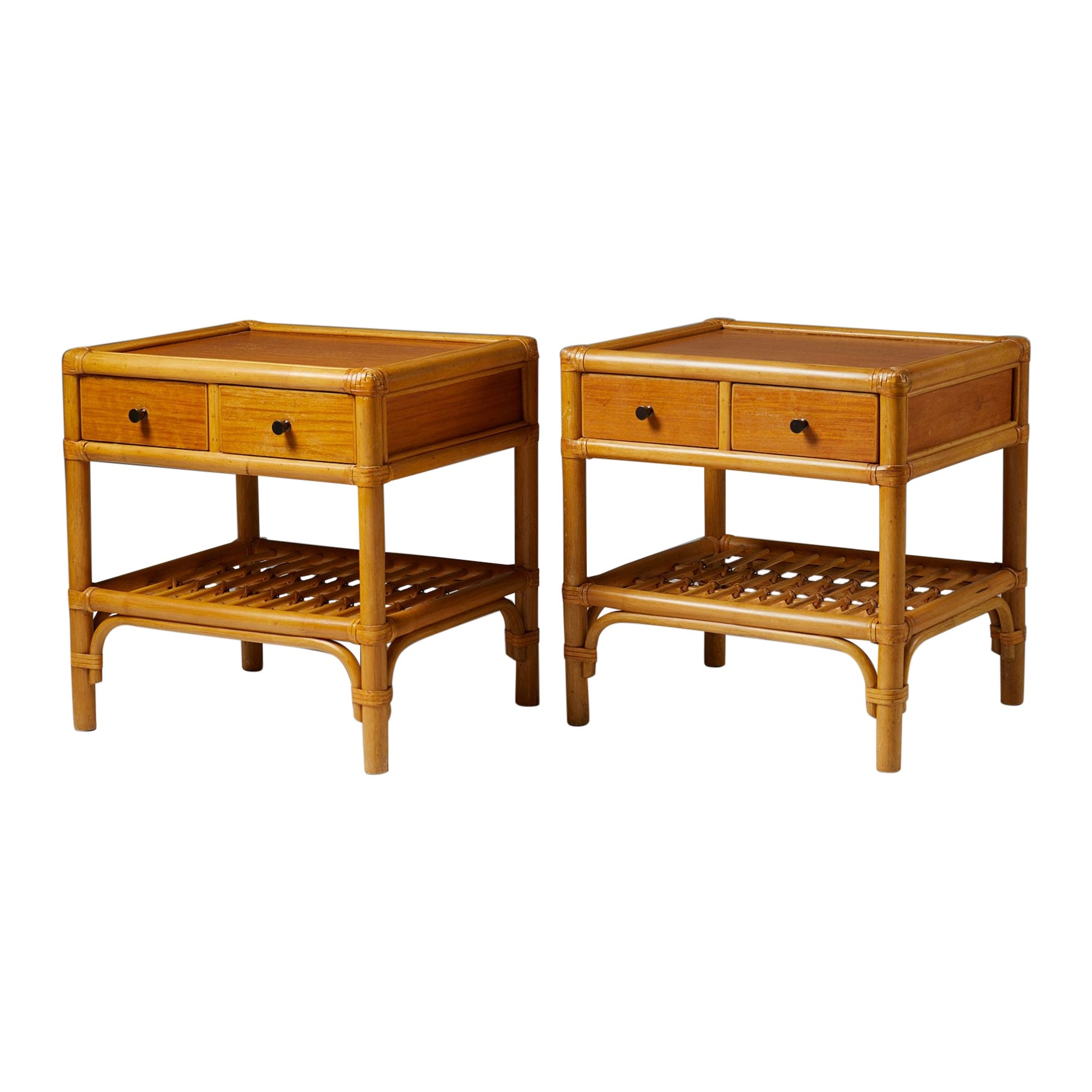 Pair of Bedside Tables, Anonymous, Sweden, 1960's