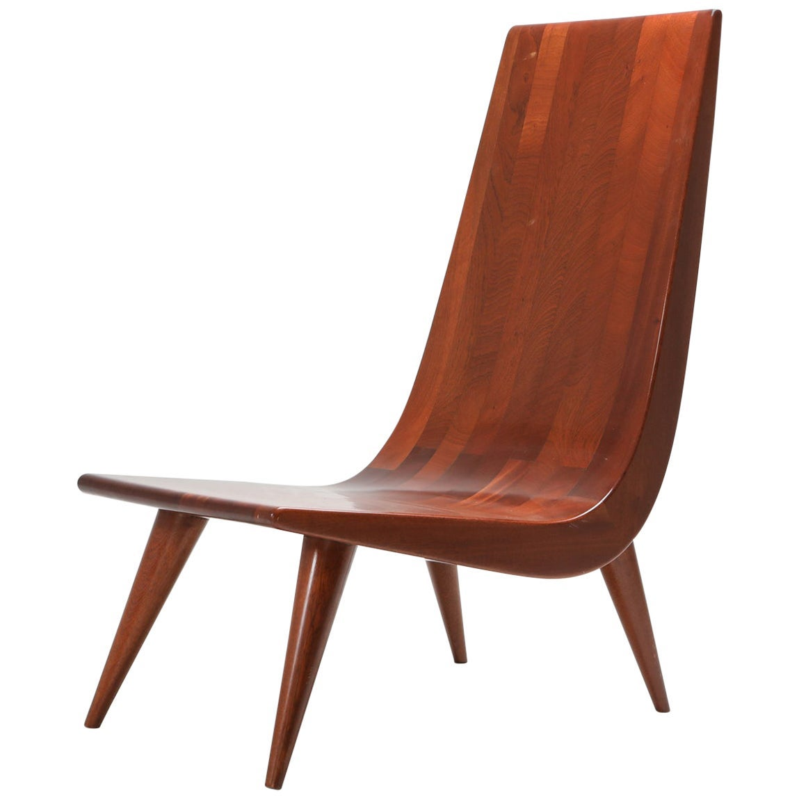 Brazilian Modern Lounge Chair, 1970s