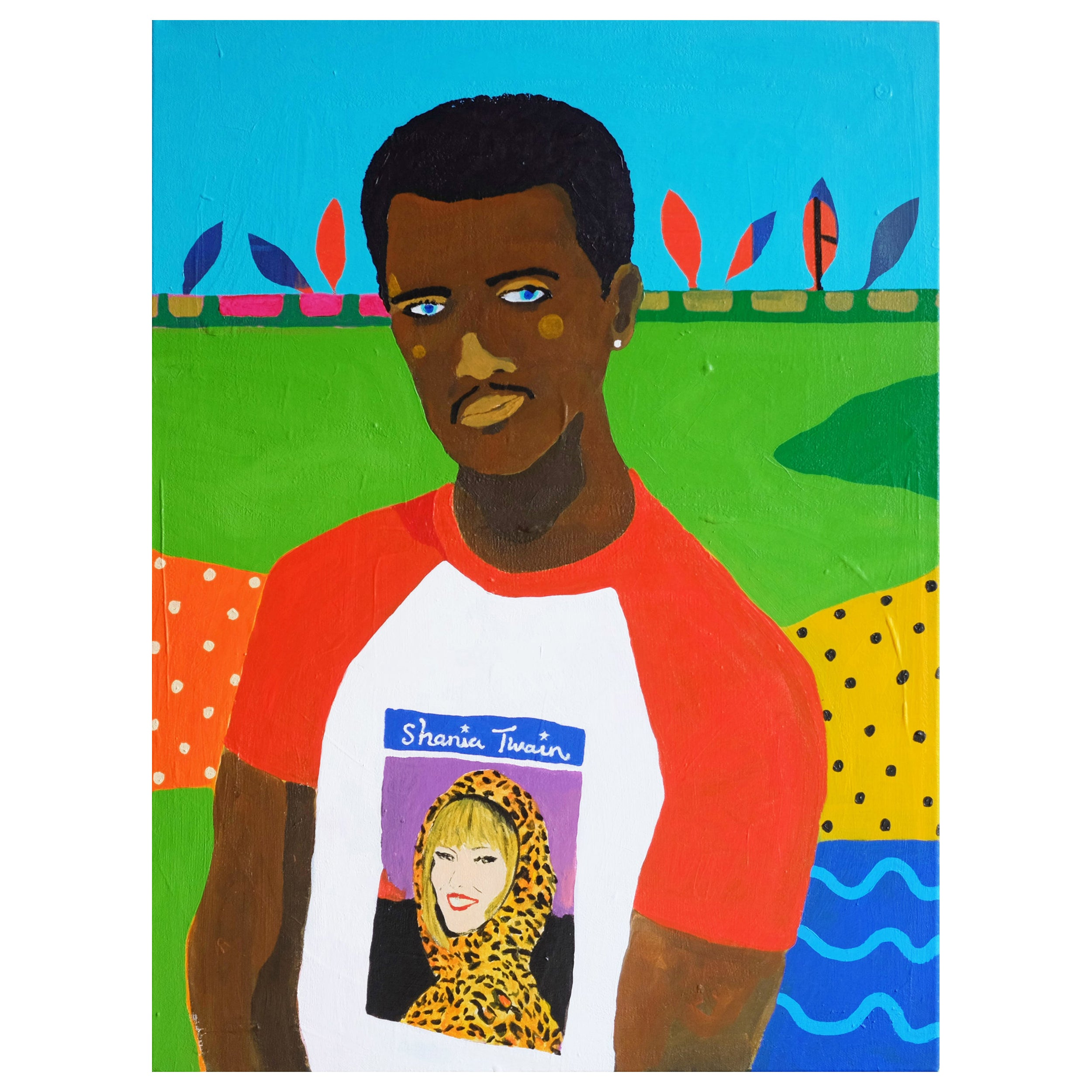 'That Don't Impress Me Much' Portrait Painting by Alan Fears Pop Art