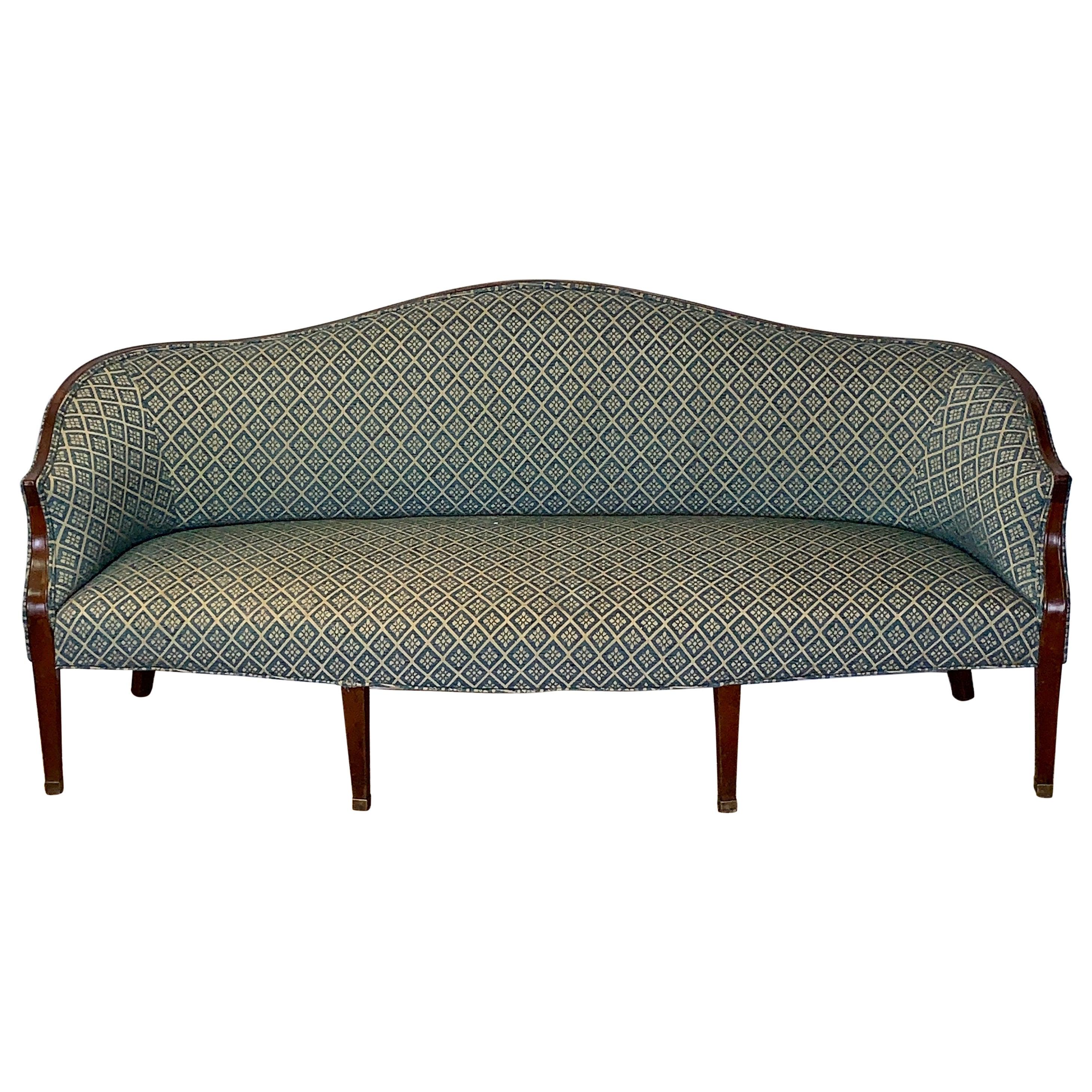 Early 19th Century Mahogany Sofa