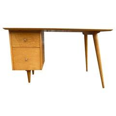 Paul McCobb Maple Planner Group Desk, circa 1955