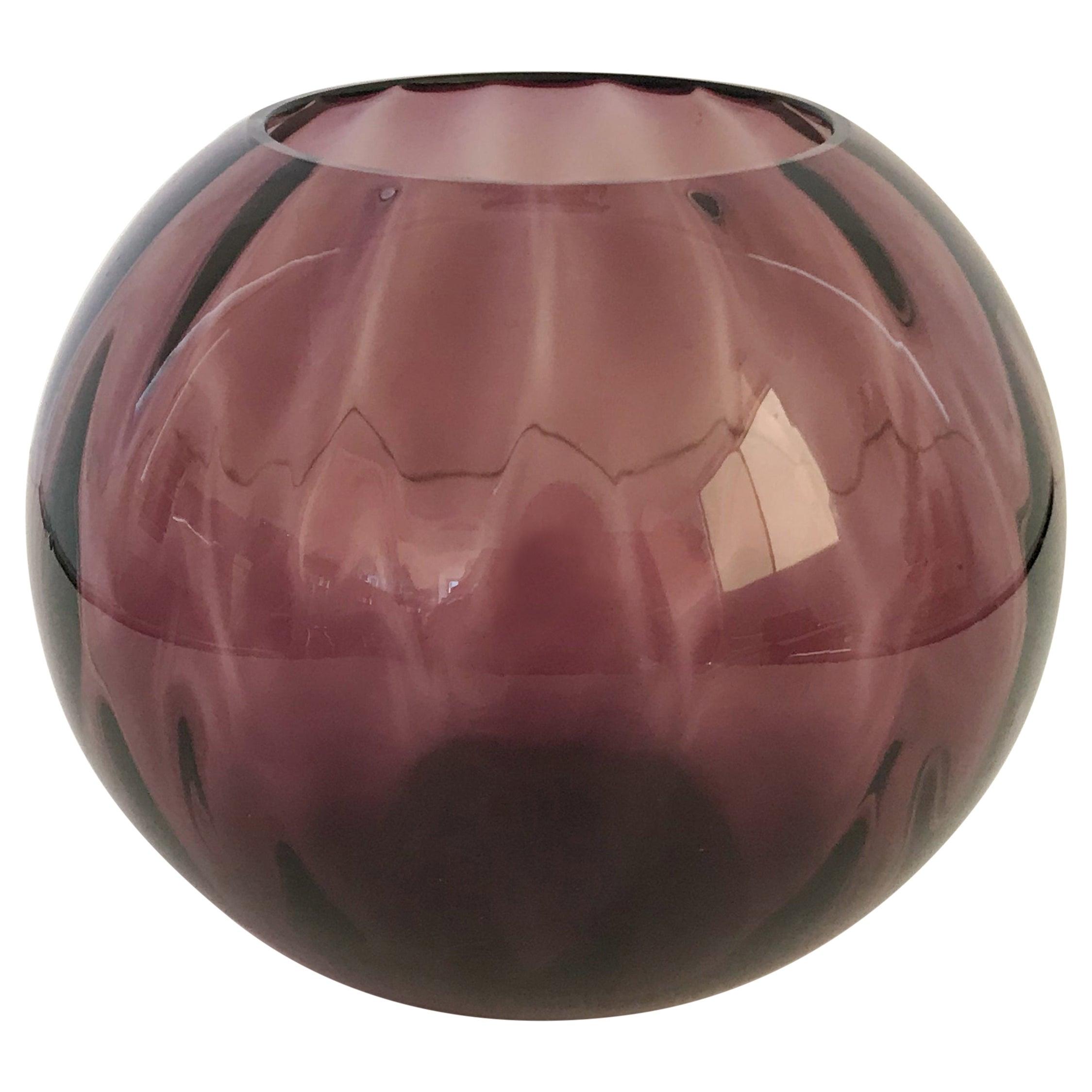 Amethyst Murano Bowl FINAL CLEARANCE SALE
