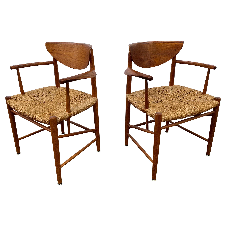 Peter Hvidt and Orla Molgaard-Nielsen Arm Chairs
