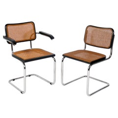 Marcel Breuer Cesca Dining Chairs, 12 Available