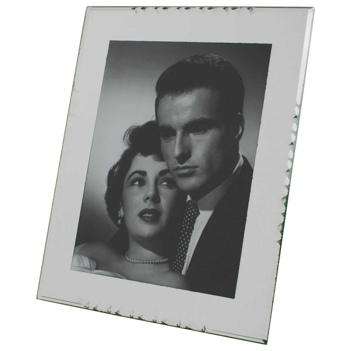 French 1940s Mirror Picture Frame