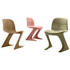 Ernst Moeckl Colorful Kangaroo Chairs