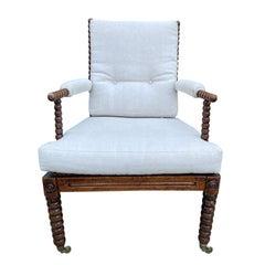 Circa 1850 American Bobbin Chair