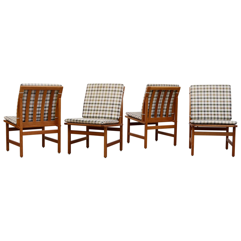 Set of 4 Børge Mogensen 'Model 3232' Chairs for Fredericia Stolefabrik