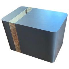 Knoll Mid-Century Modern Laminate Cube Table