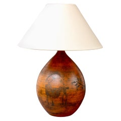 Mid-Century French Ceramic Table Lamp by Jacques Blin, 'circa 1950s'