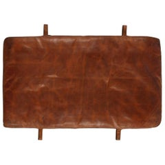 Czech Vintage Leather Gym Mat II., 1930s