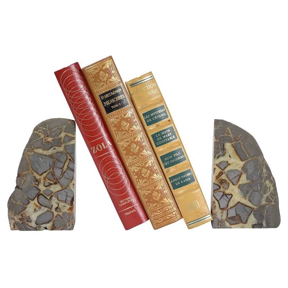 Pair of Organic Modern Bookends