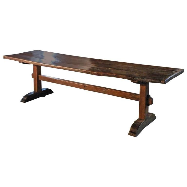 17th century Southern French Rustic Trestle Table