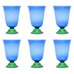 Set of Six Campbell-Rey Cosimo Murano Tumblers