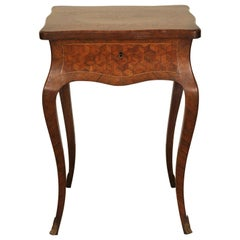 Inlaid French Dressing Table