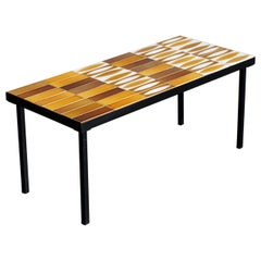 "Roger Capron, ""Navette"" Coffee Table, 1960"