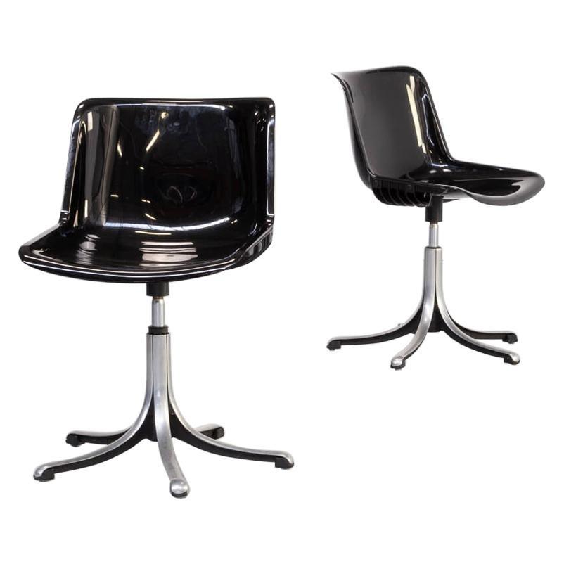 70s Osvaldo Borsani 'modus' Desk Chair for Tecno