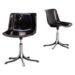 70s Osvaldo Borsani 'modus' Desk Chair for Tecno