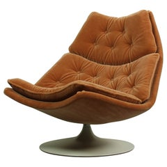 F588L Lounge Chair Designed by Geoffrey Harcourt for Artifort, 1960s