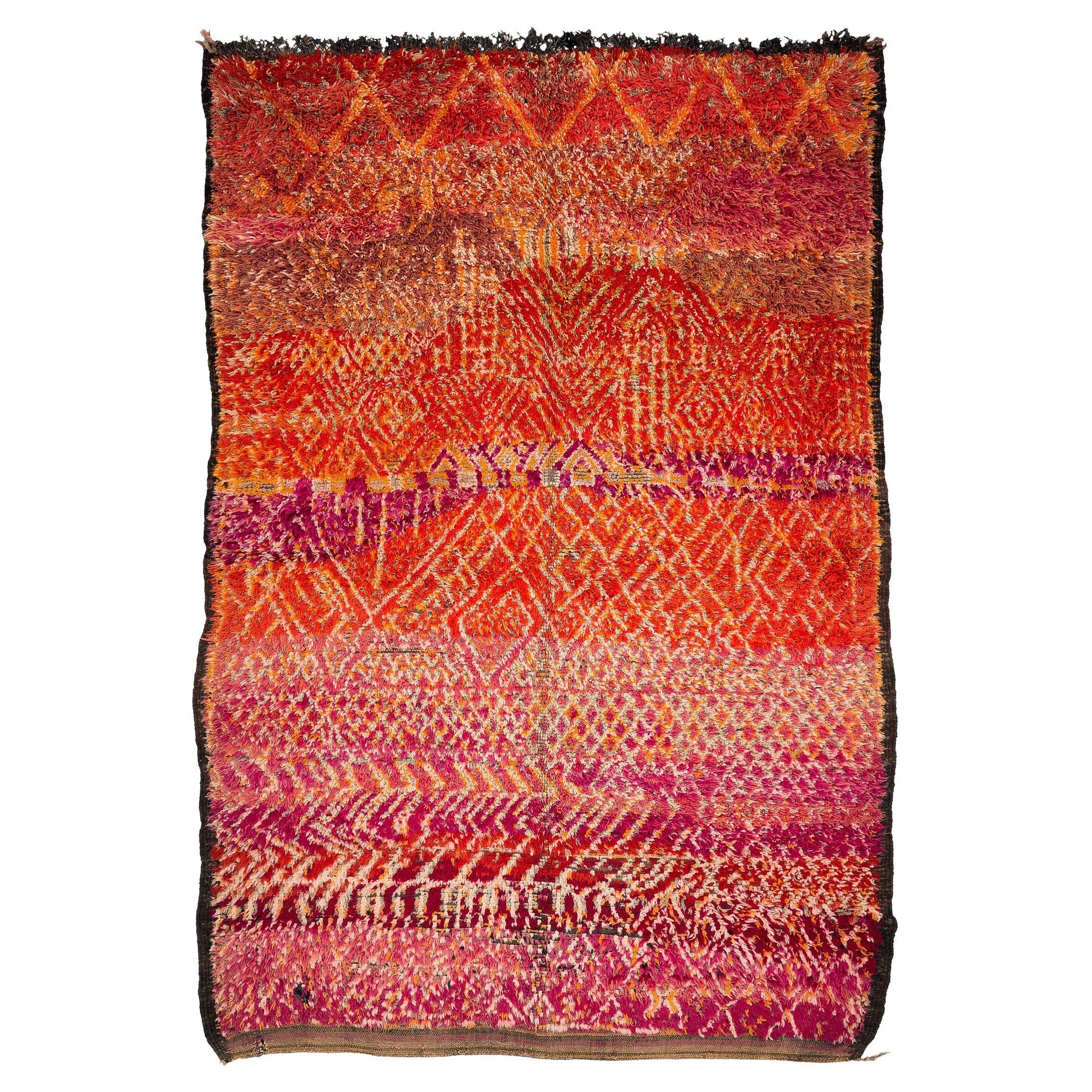 Vintage Zayan Moroccan Rug