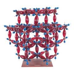 Vintage Czech Molecular Model