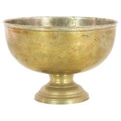 1920s French Brass Bowl