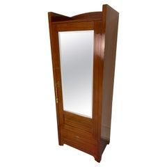 Mirrored Jugendstil Armoire