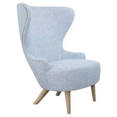 Micro Wingback Chair Natural Leg Melange Nap 0711
