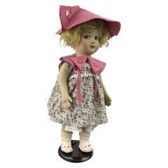 Antique Felt Lenci Toy Doll