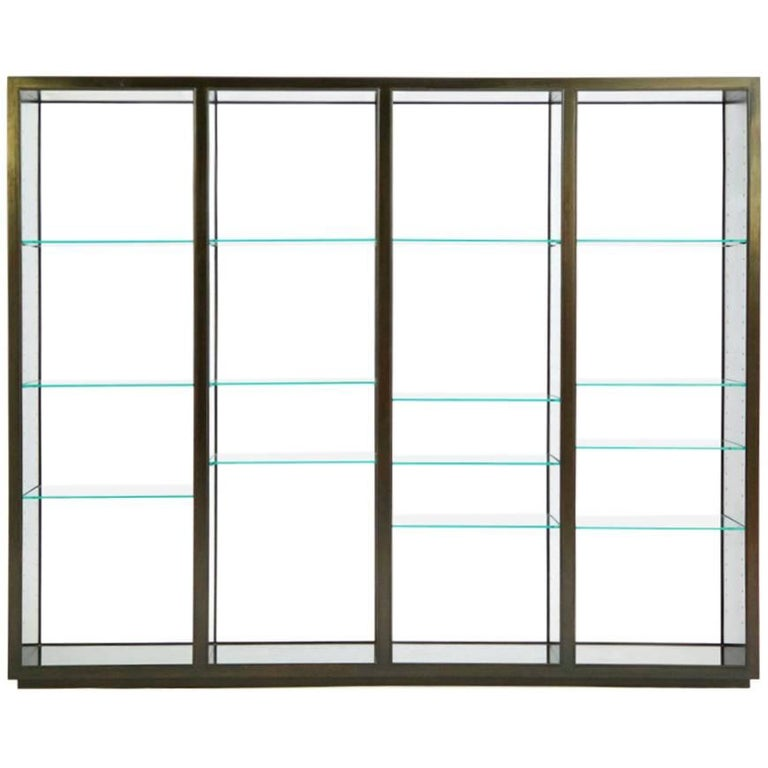 """Edward Wormley """"Superstructure"""" Room Divider Display Case 1"""