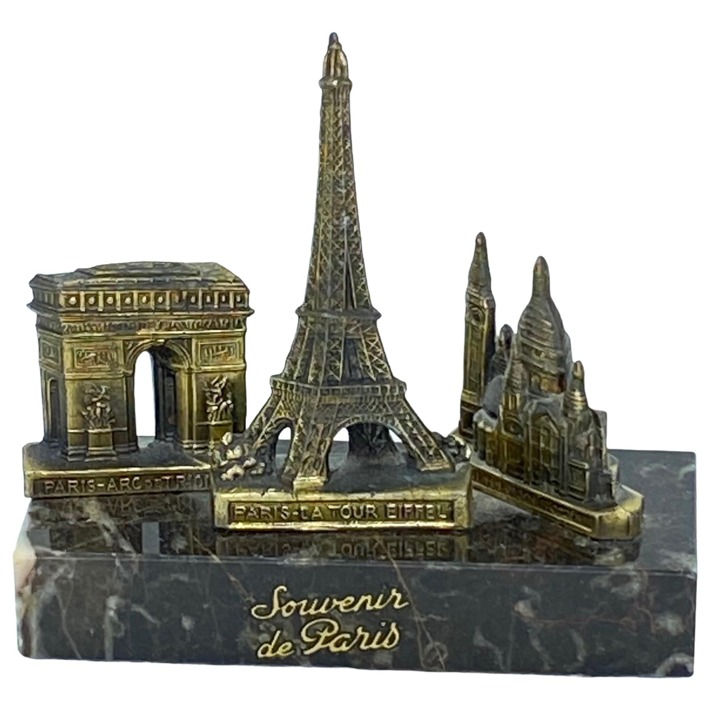 Eiffel Tower, Sacré-Coeur, Arc de Triomphe Souvenir Building Architectural Model