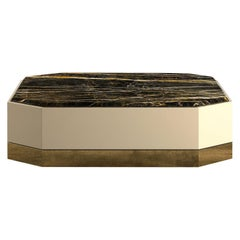 Senza Fine Low Coffe Table Marble Top