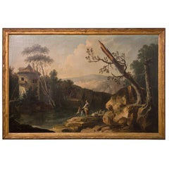 French Painting from 18th Century by Crepin d'Orleans