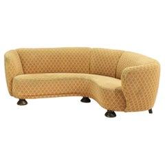 Danish Modern Corner Sofa