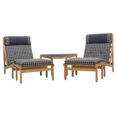 Five Piece Rag Chair Set by Bernt Petersen