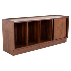 Merton Gurshun Dillingham Esprit Mid Century Record Cabinet Bench