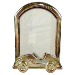 Tiffany & Co Sterling Silver Picture Frame with Car Design