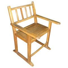 19th Century Molave Wood Kitchen Chair