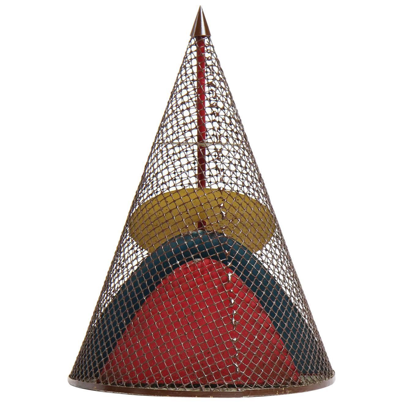 Conical Metal Sculpture