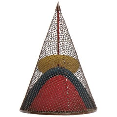 Conical Metal Sculpture