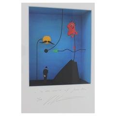 Jean Miro Tribute Shadow Box by Volker Kuhn