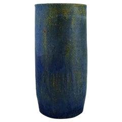 Yngve Blixt for Höganäs, Unique Vase in Glazed Stoneware
